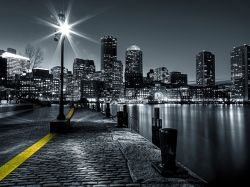 Boston's light's. FT 1428