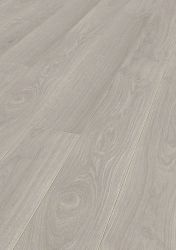 Πάτωμα laminate 8mm Kronotex από την συλλογή Exquisit V4 Ac4 /Cl32 Waveless Oak White- Oikianet - D2873