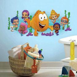 c622dfdccea Παιδικά αυτοκόλλητα με τα Bubble guppies από τη συλλογή Roommates της εταιρίας  York . Rmk 2774