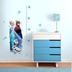 559ac28bd51 Παιδικά αυτοκόλλητα τοίχου με την Αννα, την Έλσα και τον Όλαφ από το Frozen  σε